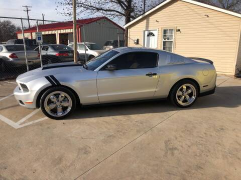 2012 Ford Mustang for sale at D & M Vehicle LLC in Oklahoma City OK