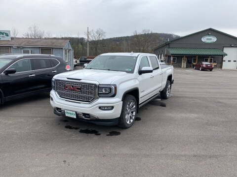2018 GMC Sierra 1500 for sale at Greens Auto Mart Inc. in Wysox PA