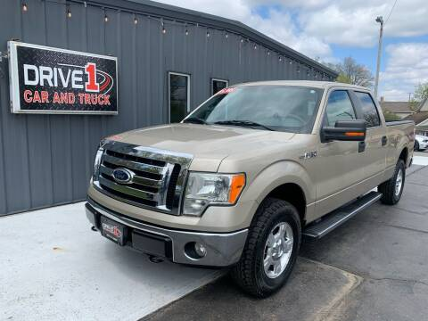 2010 Ford F-150 for sale at Drive 1 Car & Truck in Springfield OH