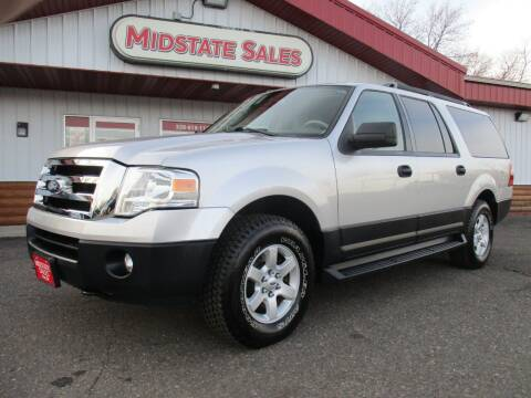 2014 Ford Expedition EL for sale at Midstate Sales in Foley MN