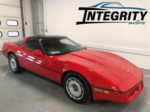 1987 Chevrolet Corvette for sale at Integrity Motors, Inc. in Fond Du Lac WI