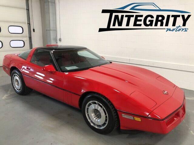 1987 Chevrolet Corvette for sale at Integrity Motors, Inc. in Fond Du Lac WI