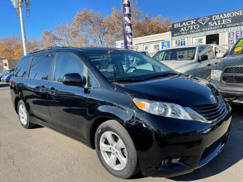2011 Toyota Sienna for sale at Black Diamond Auto Sales Inc. in Rancho Cordova CA