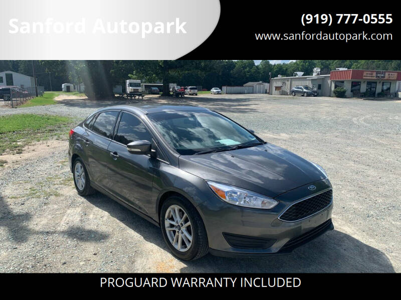2015 Ford Focus for sale at Sanford Autopark in Sanford NC