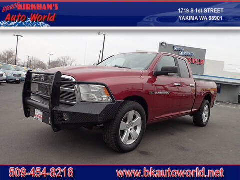 2011 RAM Ram Pickup 1500 for sale at Bruce Kirkham Auto World in Yakima WA