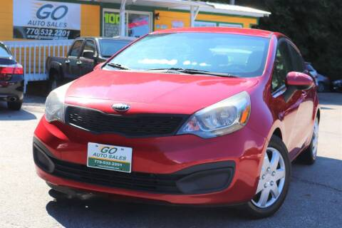 2014 Kia Rio for sale at Go Auto Sales in Gainesville GA