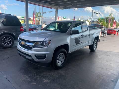 2019 Chevrolet Colorado for sale at American Auto Sales in Hialeah FL