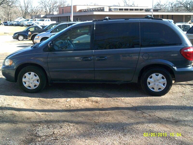 2002 Chrysler Voyager for sale at D & D Auto Sales in Topeka KS