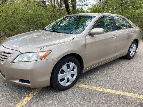 2007 Toyota Camry for sale at BRATTLEBORO AUTO SALES in Brattleboro VT