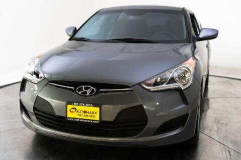 2016 Hyundai Veloster for sale at AUTOMAXX MAIN in Orem UT