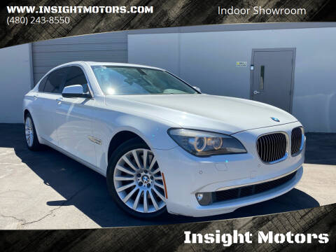 2012 BMW 7 Series for sale at Insight Motors in Tempe AZ