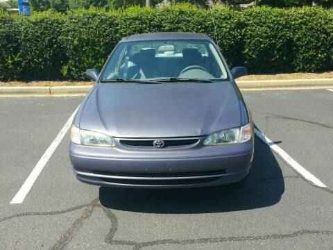 2000 Toyota Corolla for sale at Wheels To Go Auto Sales in Greenville SC