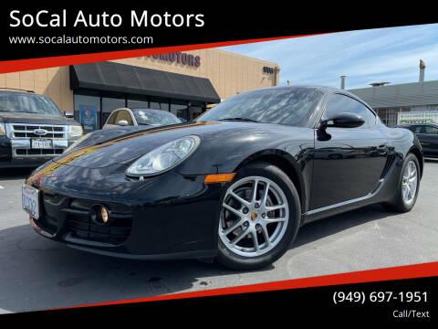 2008 Porsche Cayman for sale at SoCal Auto Motors in Costa Mesa CA