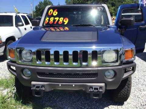 2006 HUMMER H3 for sale at K & E Auto Sales in Ardmore AL