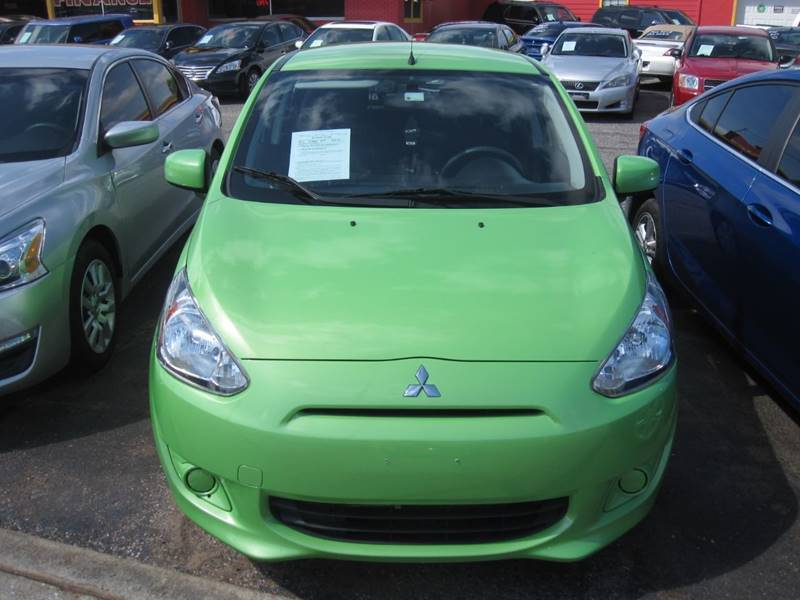 2014 Mitsubishi Mirage for sale at T & D Motor Company in Bethany OK