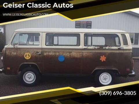 1977 Volkswagen Bus for sale at Geiser Classic Autos in Roanoke IL