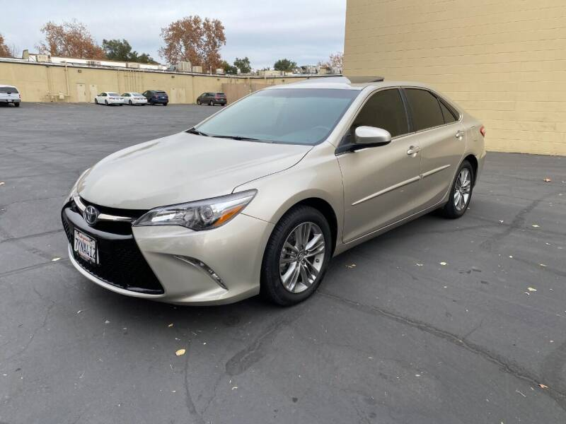 2017 Toyota Camry for sale at TOP QUALITY AUTO in Rancho Cordova CA