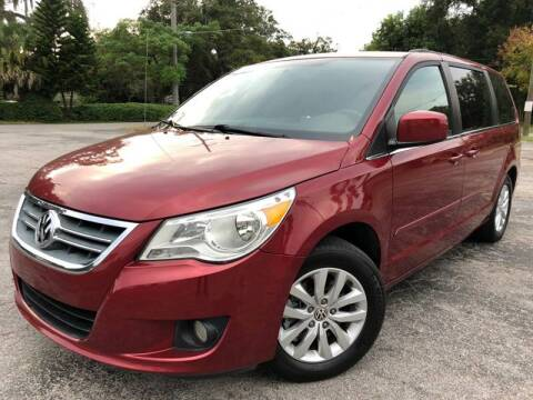 2012 Volkswagen Routan for sale at Consumer Auto Credit in Tampa FL