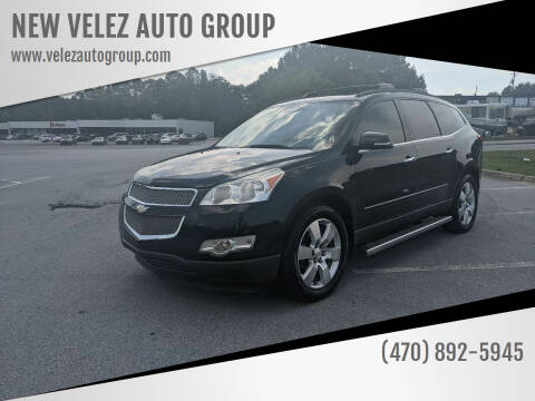 2011 Chevrolet Traverse for sale at NEW VELEZ AUTO GROUP in Gainesville GA