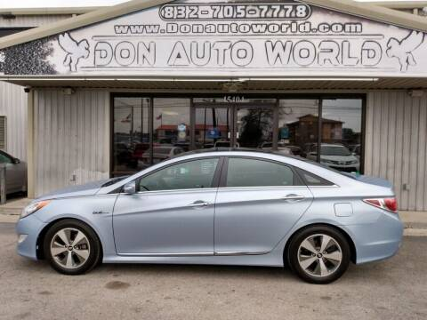 2012 Hyundai Sonata Hybrid for sale at Don Auto World in Houston TX