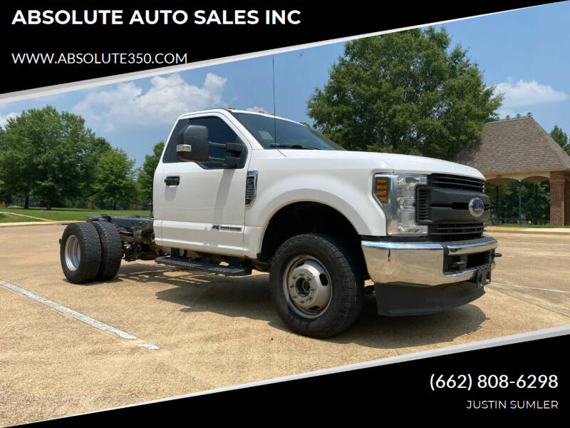 2019 Ford F-350 Super Duty for sale at ABSOLUTE AUTO SALES INC in Corinth MS
