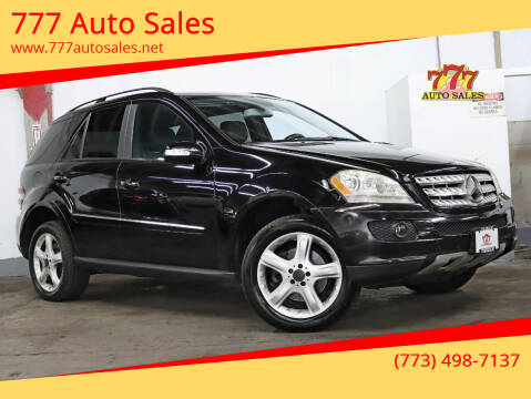 2008 Mercedes-Benz M-Class for sale at 777 Auto Sales in Bedford Park IL