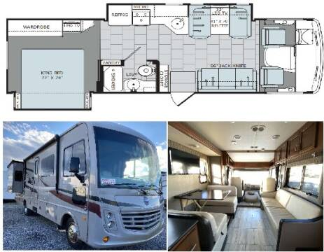 2017 Holiday Rambler Admiral XE 30U for sale at S & M WHEELESTATE SALES INC - Class A in Princeton NC