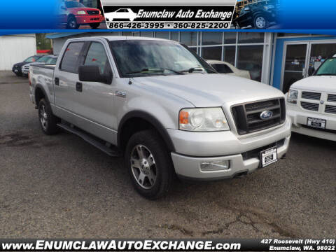 2004 Ford F-150 for sale at Enumclaw Auto Exchange in Enumclaw WA