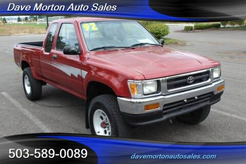 1992 Toyota Pickup for sale at Dave Morton Auto Sales in Salem OR