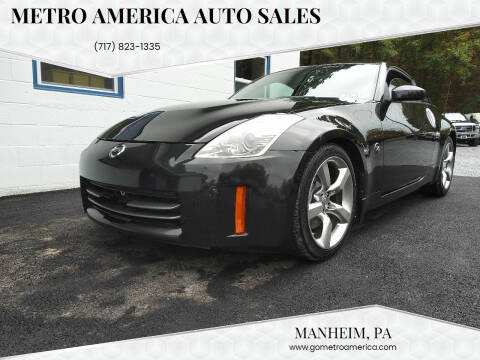 2007 Nissan 350Z for sale at METRO AMERICA AUTO SALES of Manheim in Manheim PA
