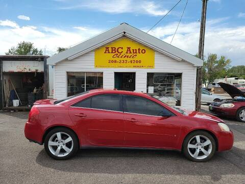 2006 Pontiac G6 for sale at ABC AUTO CLINIC in Chubbuck ID