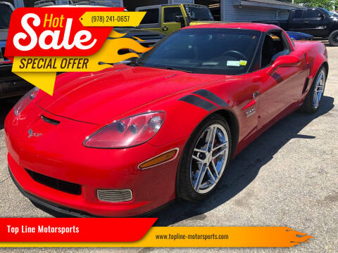 2008 Chevrolet Corvette for sale at Top Line Motorsports in Derry NH