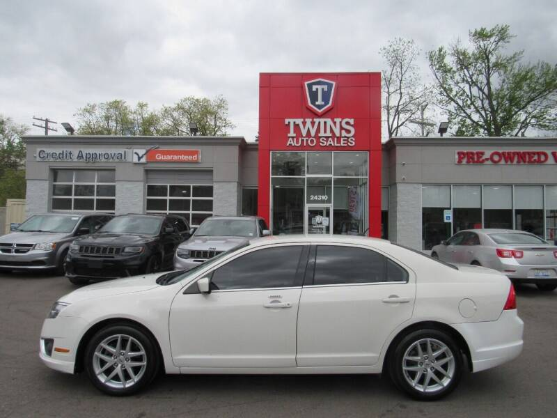 2012 Ford Fusion for sale at Twins Auto Sales Inc in Detroit MI