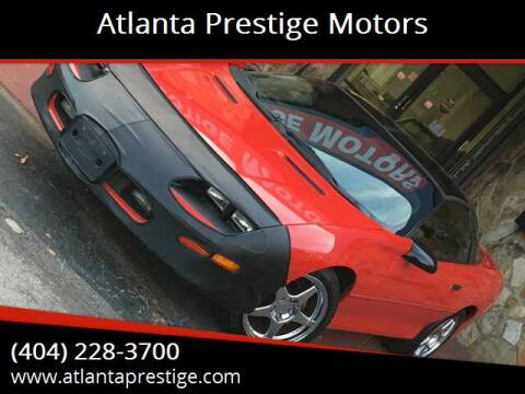 1996 Chevrolet Camaro for sale at Atlanta Prestige Motors in Decatur GA