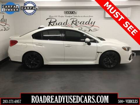 2018 Subaru WRX for sale at Road Ready Used Cars in Ansonia CT