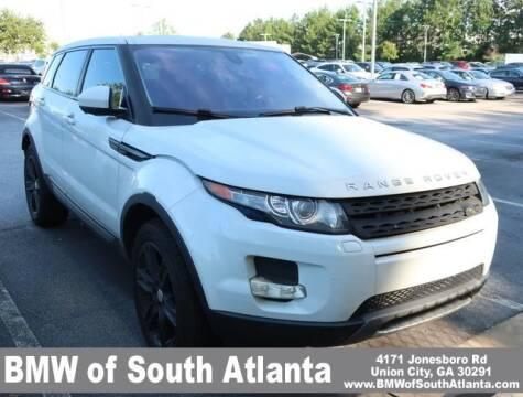 2014 Land Rover Range Rover Evoque for sale at Carol Benner @ BMW of South Atlanta in Union City GA