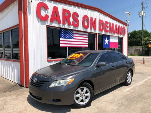 2007 Toyota Camry for sale at Cars On Demand 3 in Pasadena TX