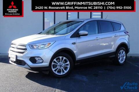 2017 Ford Escape for sale at Griffin Mitsubishi in Monroe NC