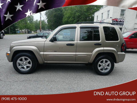 2003 Jeep Liberty for sale at DND AUTO GROUP in Belvidere NJ