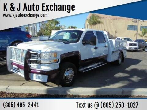 2011 Chevrolet Silverado 3500HD CC for sale at K & J Auto Exchange in Santa Paula CA
