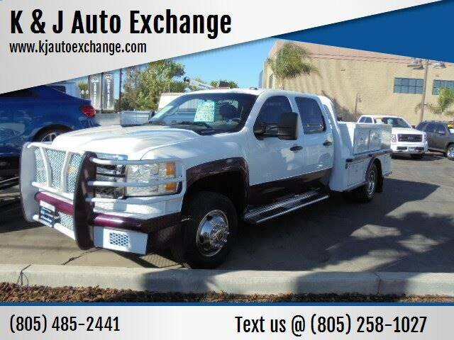 2011 Chevrolet Silverado 3500HD CC for sale at K & J Auto Exchange in Santa Paula CA