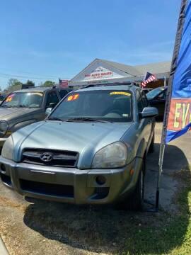 2007 Hyundai Tucson for sale at Top Auto Sales in Petersburg VA