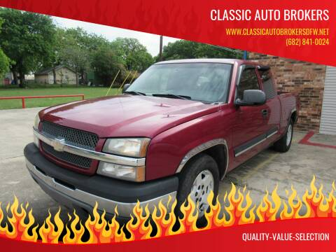 2005 Chevrolet Silverado 1500 for sale at Classic Auto Brokers in Haltom City TX