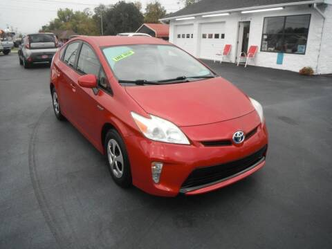 2013 Toyota Prius for sale at Morelock Motors INC in Maryville TN