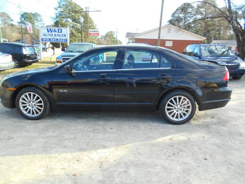 2008 Mercury Milan for sale at W & D Auto Sales in Fayetteville NC