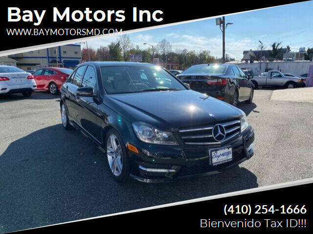 2014 Mercedes-Benz C-Class for sale at Bay Motors Inc in Baltimore MD
