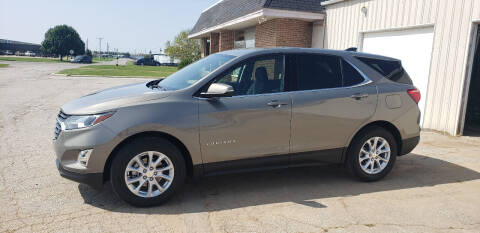 2018 Chevrolet Equinox for sale at RAP Automotive in Goshen IN