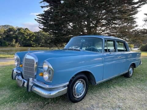 1966 Mercedes-Benz S-Class for sale at Dodi Auto Sales in Monterey CA