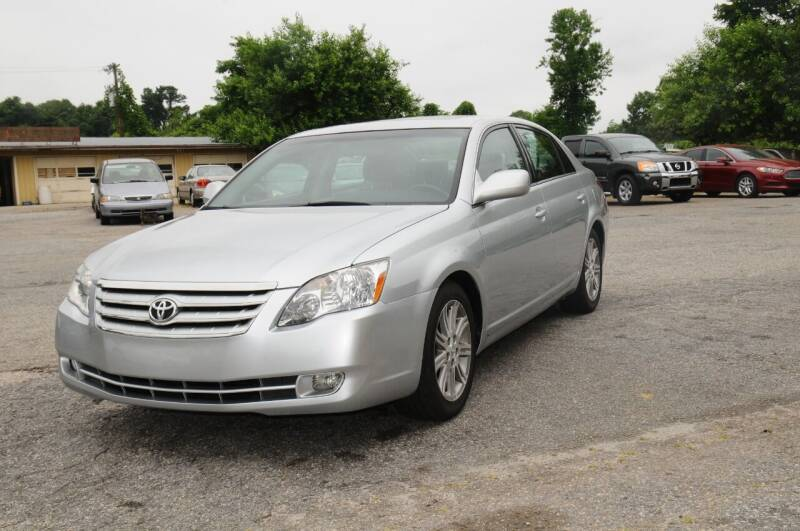 2007 Toyota Avalon for sale at RICHARDSON MOTORS USED CARS - Buy Here Pay Here in Anderson SC