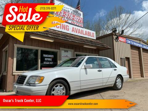 1996 Mercedes-Benz S-Class for sale at Oscar's Truck Center, LLC in Houston TX